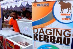 Gelar Operasi Pasar, Bulog Gelontorkan Daging 1.000 Ton